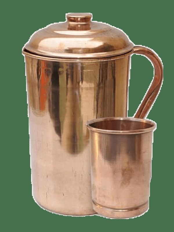 Copper Jug Glass
